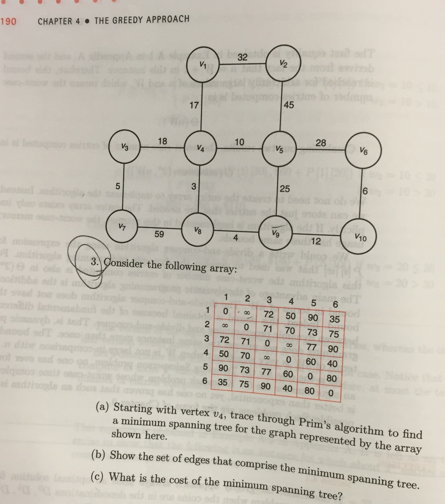Question: Textbook: Foundations of Algorithms, By Richard Neapolitan 4th  edition Exercises Chapter 4\ Secti.