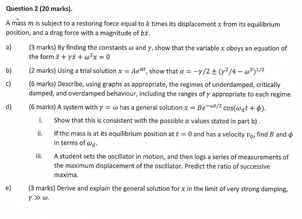 general equilibrium position
