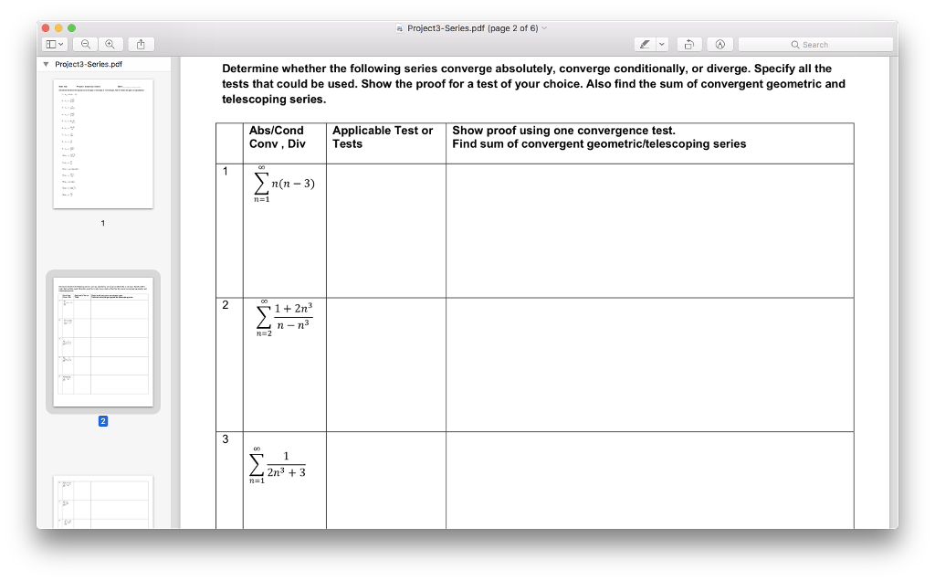 solved a project3 series pdf page 2 of 6 q search proje