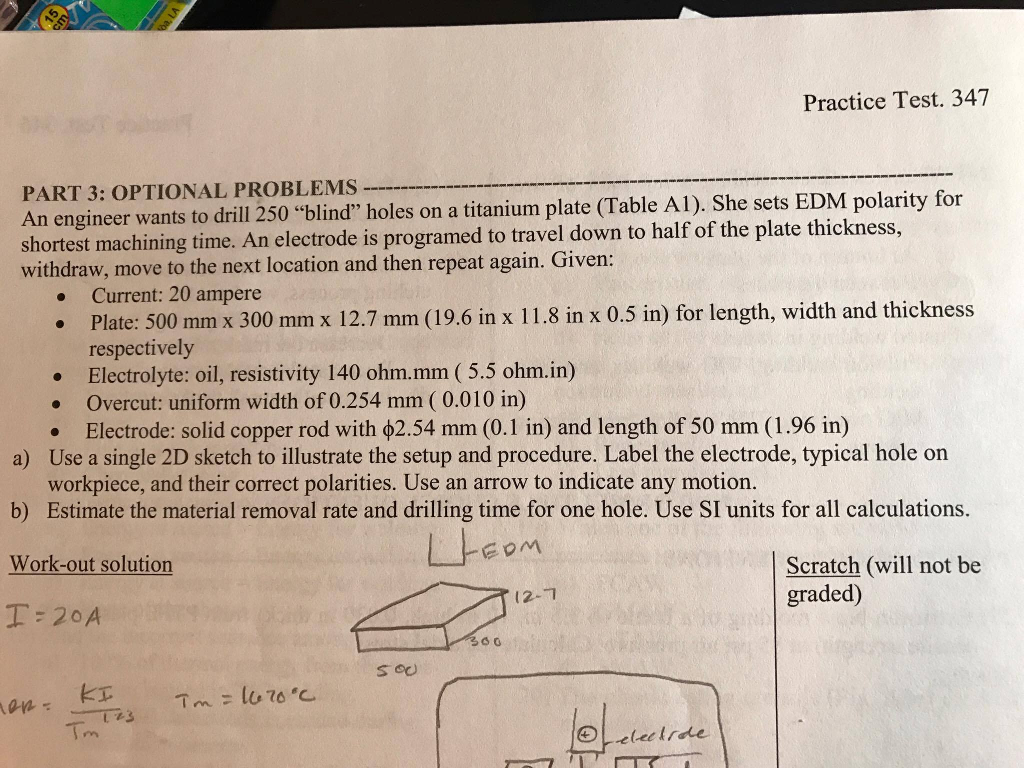Practice Test 347 PART 3 OPTIONAL PROBLEMS