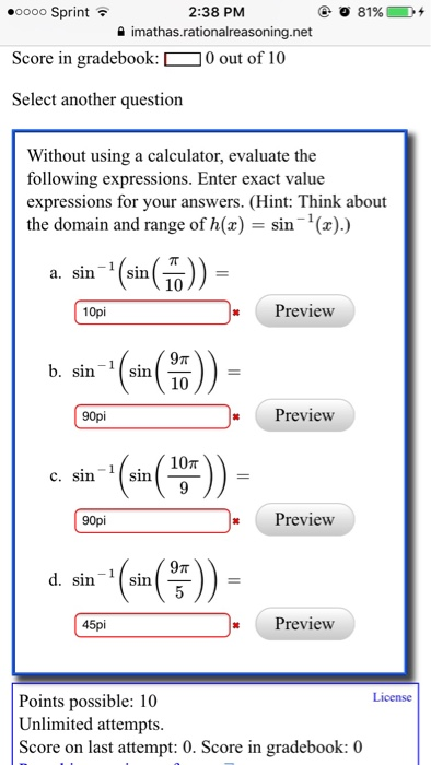 Evaluate The Expressions Calculator