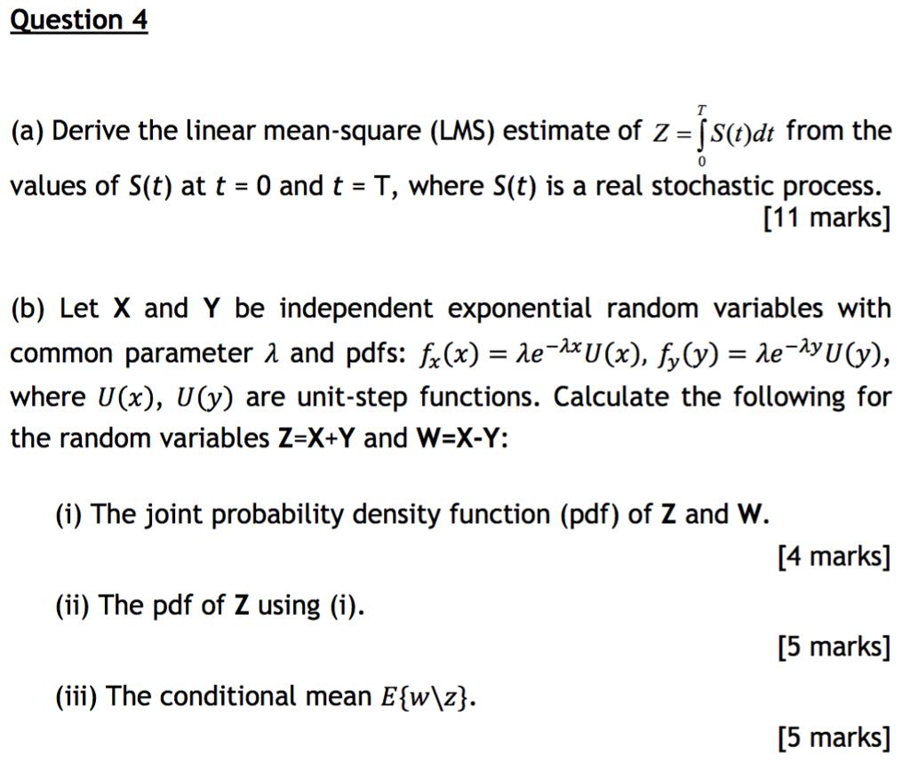 stochastic process pdf
