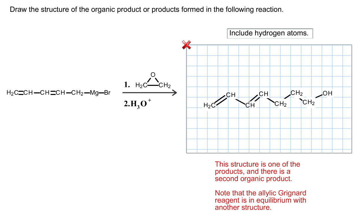 Draw The Structure Of The Product Formed In The Following Reaction