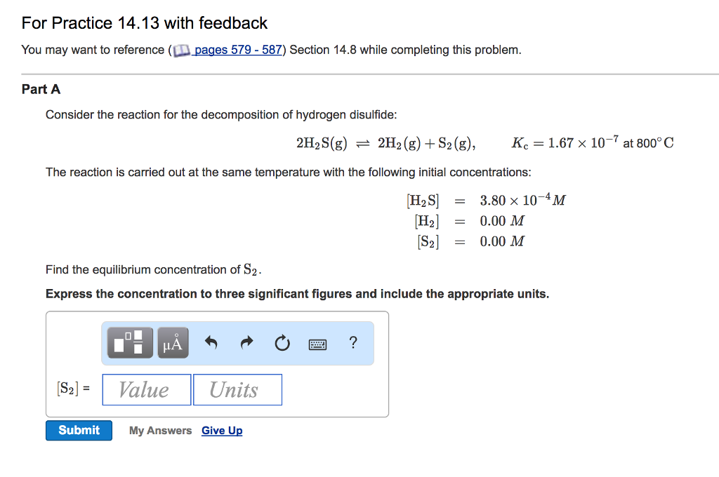 Solved: Consider The Reaction For The Decomposition Of Hyd ...