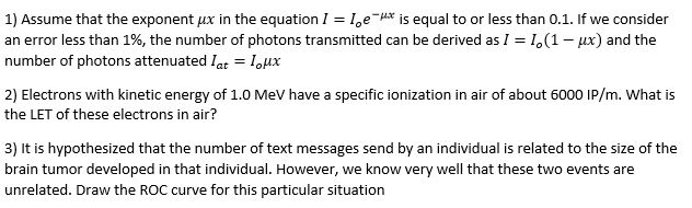 Assume that the exponent fix in the equation I = I