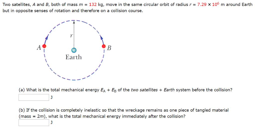 orbit and radius drum rotates