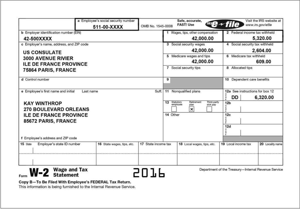 Solved Irs Form 6744 International Course Scenarios And T