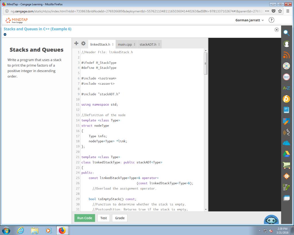 Solved C Header File Linkedstackh Ifndef Hstackty
