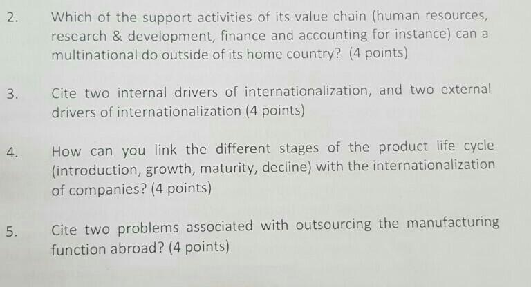 drivers of internationalization