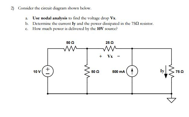 solved 2 consider the circuit diagram shown below a us rh chegg com  rectifier circuit diagram analysis