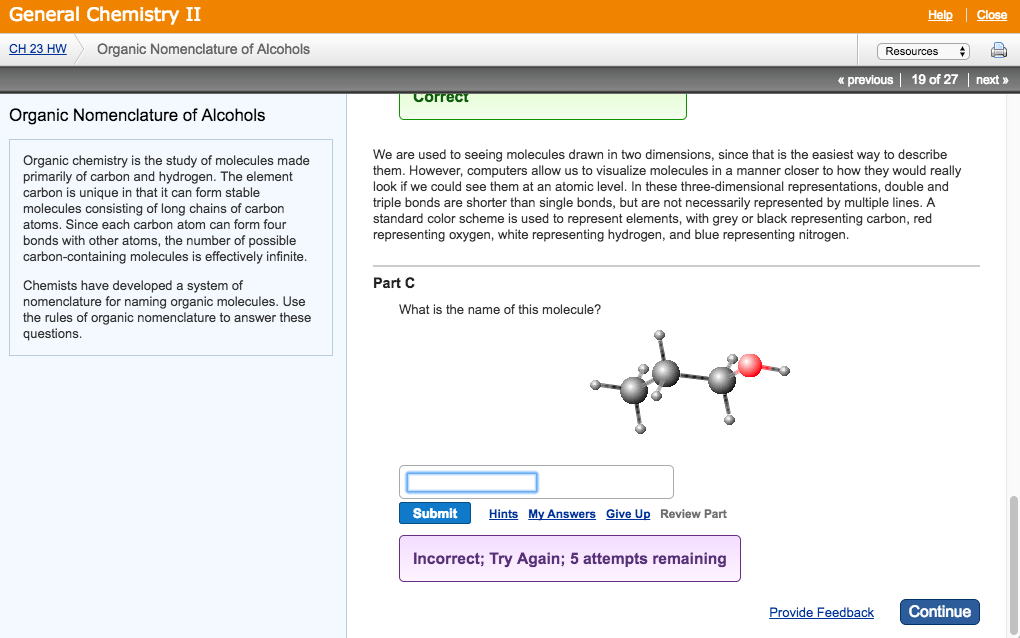 Solved: Organic Chemistry Is The Study Of Molecules Made P