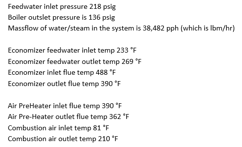 Solved: WOOD BOILER: Use The Data On The Next Sheet To Cal ...