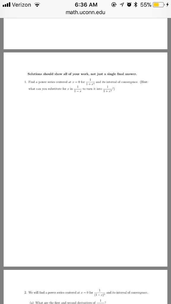 solved ll verizon 6 36 am 10 55 math uconn edu o solu