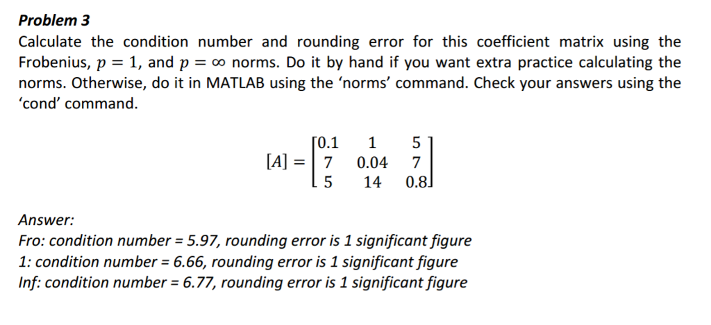 Matrix norm calculator high accuracy calculation.