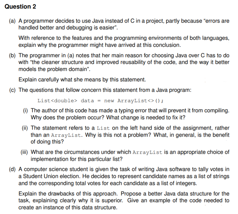Solved: Java Programming Question (Object Oriented Program