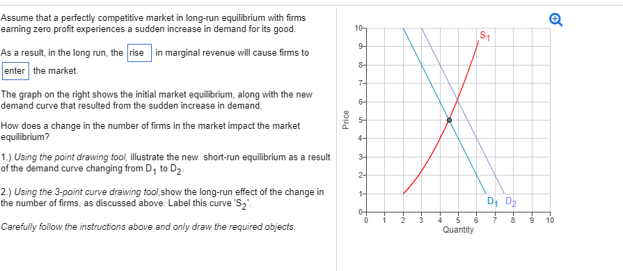fd82d77e7c6e Assume that a perfectly competitive market in long-run equilibrium with  firms earning zero profit