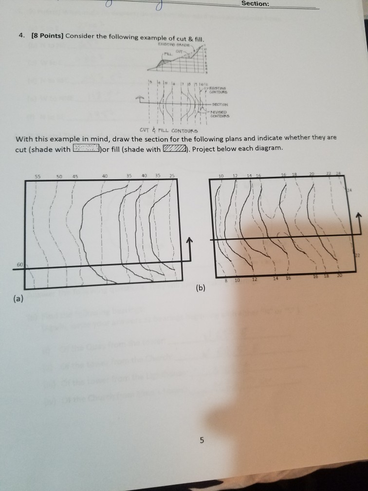 8 Points Consider the following example of