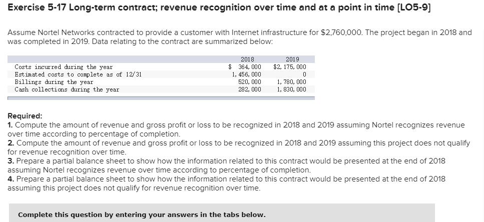 revenue recognition 2018