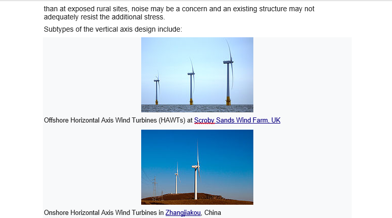 Solved: Gday Lads, The Text Below Is All About Wind Turbin