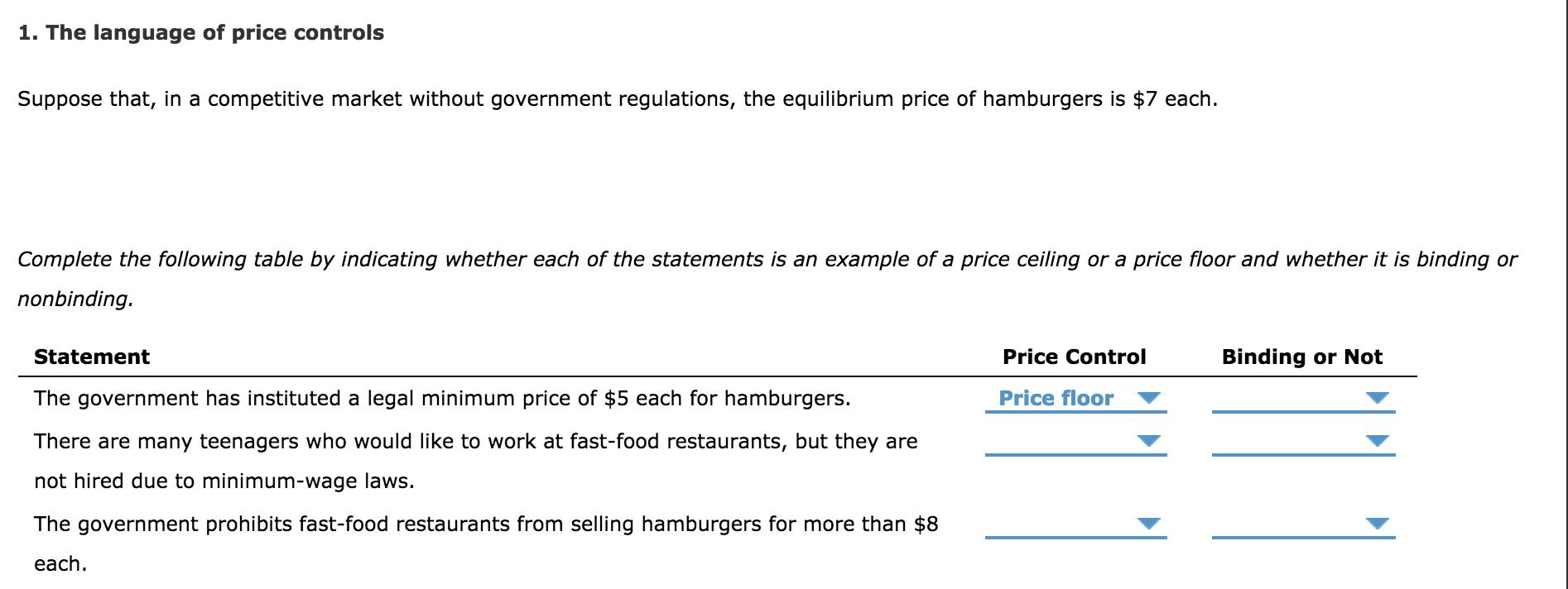 Price Ceiling Minimum Wage Escobhotelgaudimedellin