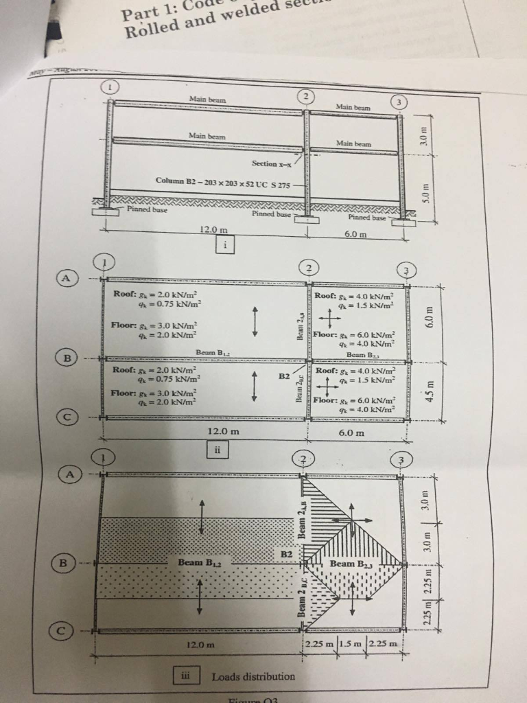 The Floor Plan And Longitudinal Cross Section Of A Chegg Com
