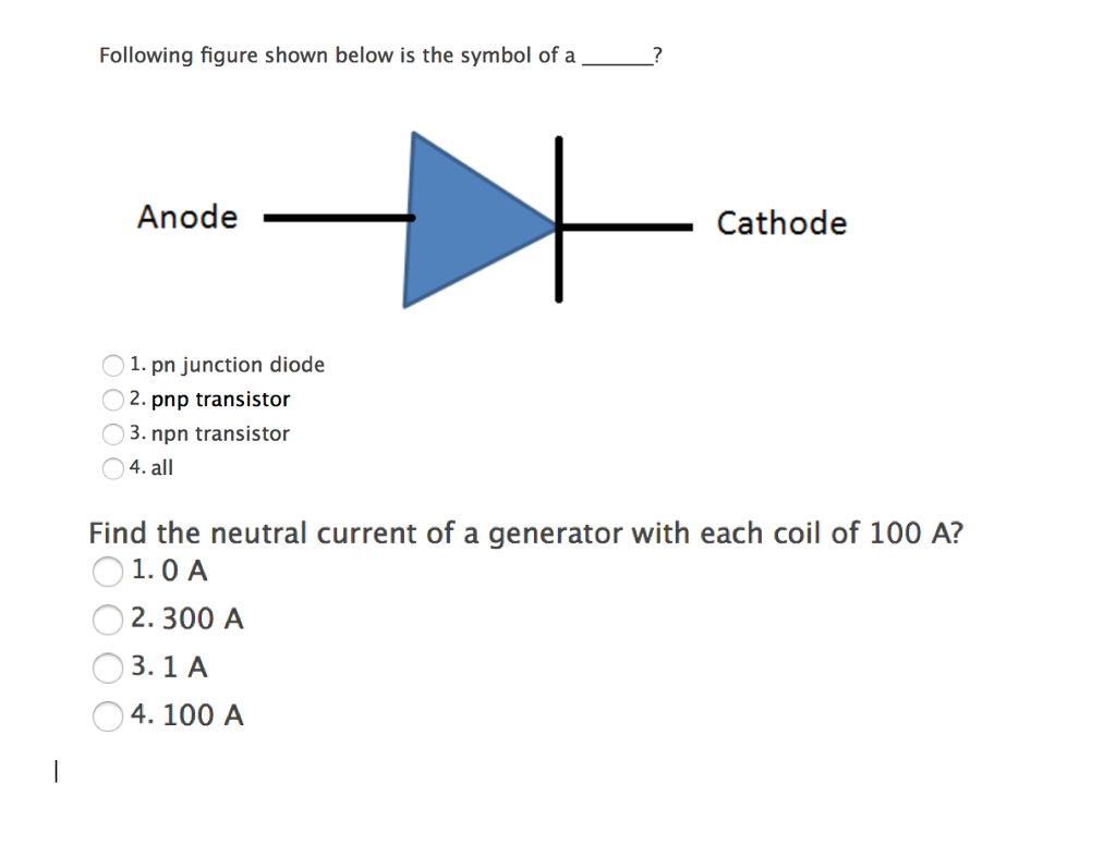 Solved Following Figure Shown Below Is The Symbol Of A