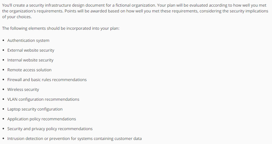Solved Youll Create A Security Infrastructure Design Doc - How to create a design document
