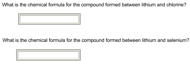Solved Which Of These Are Ionic Compounds Check All That