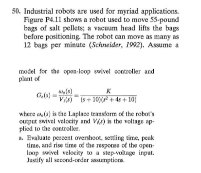 Solved: Industrial Robots Are Used For Myriad Applications