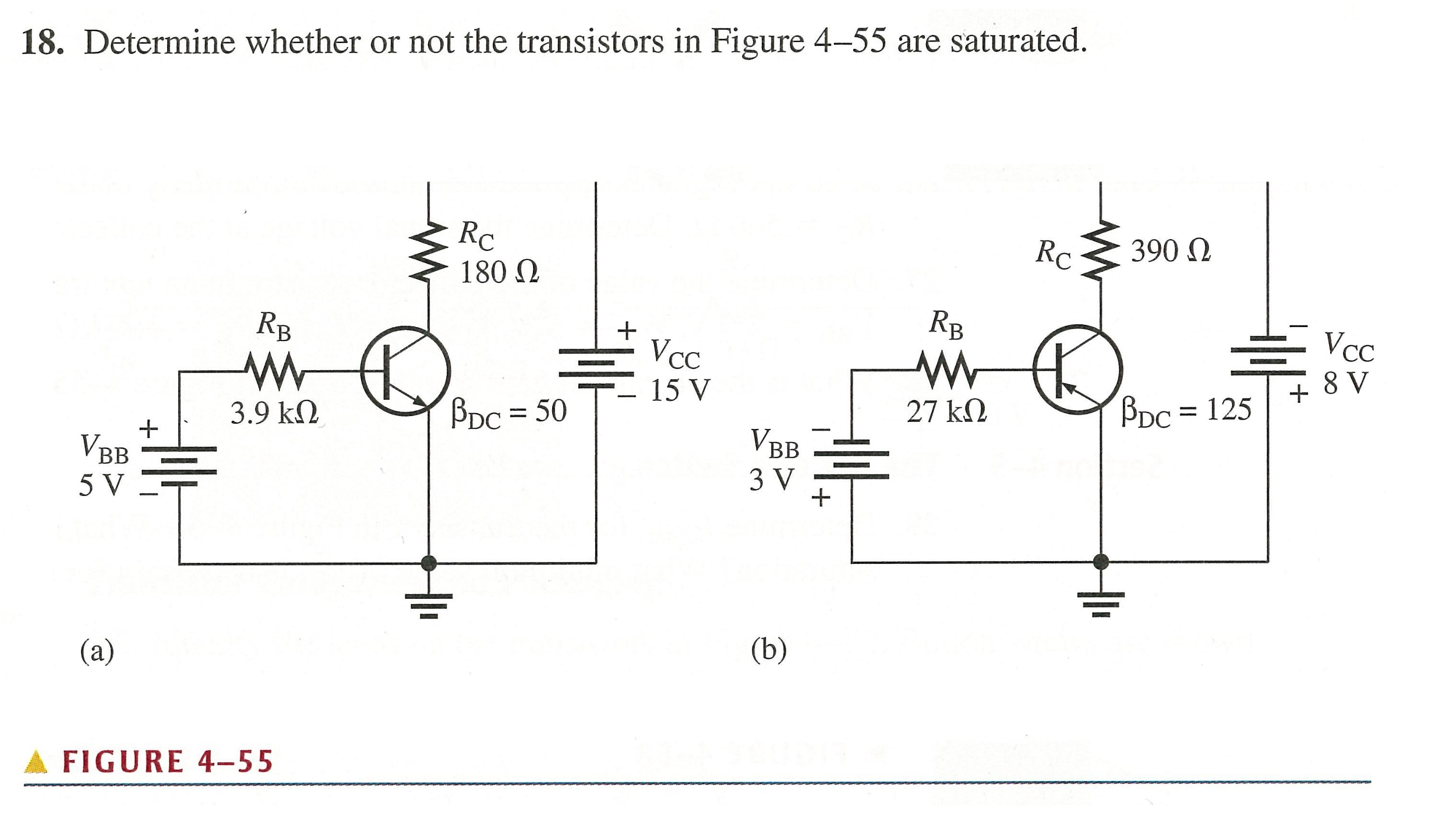 solved  determine whether or not the transistors in figure