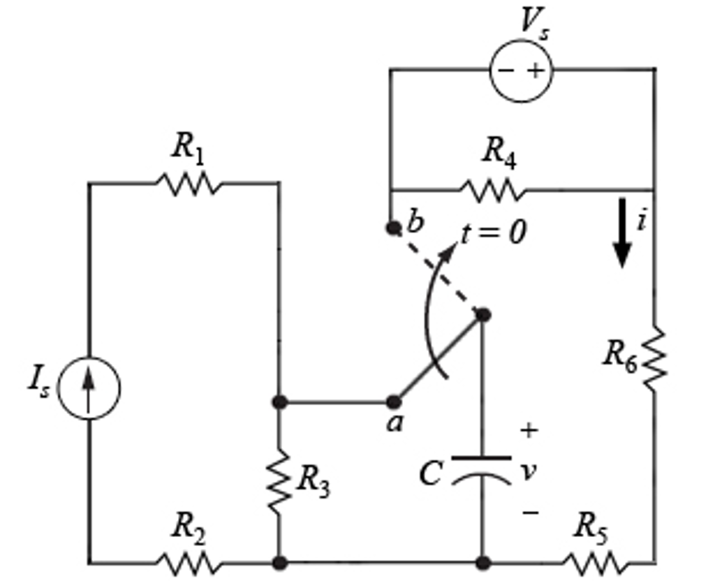 Solved: A. If The Switch In The Circuit Has Been In Positi ...