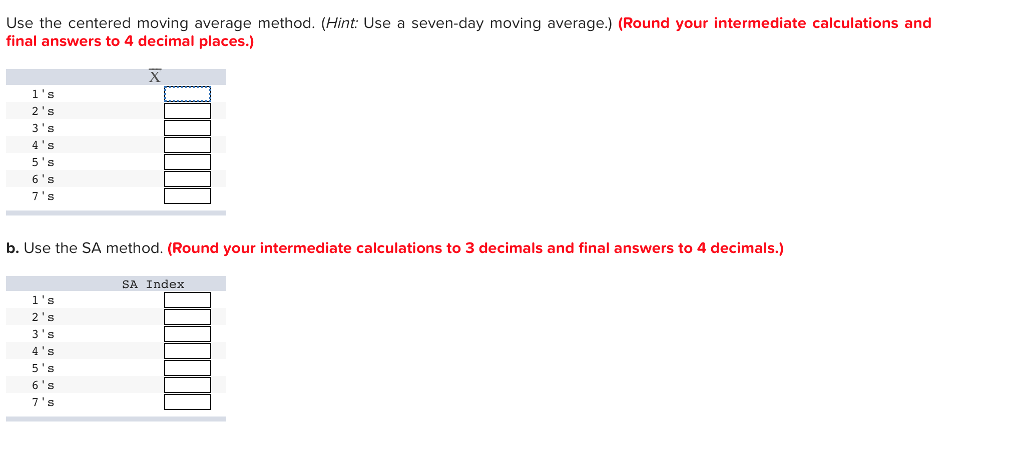 solved: problem 3-16 obtain estimates of daily relatives f