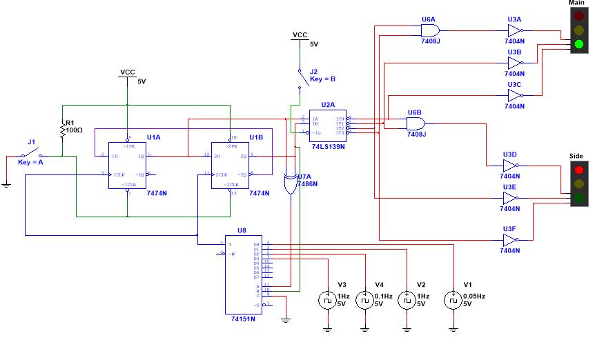Solved  Main Uga U3a Vcc 7404n  U0438 U0437 U0432 7408j J2 Key B Vcc 7404