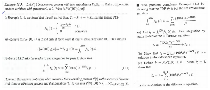 Solved: Example 11 3  Let N(t) Be A Renewal Process With I