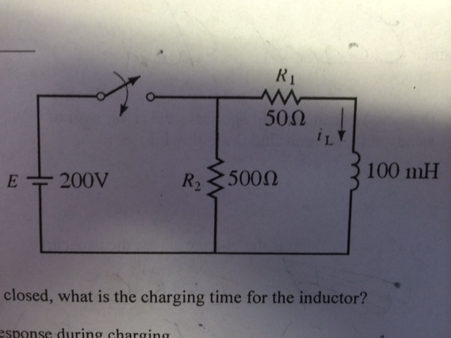 Closed, what is the charging time for the induct