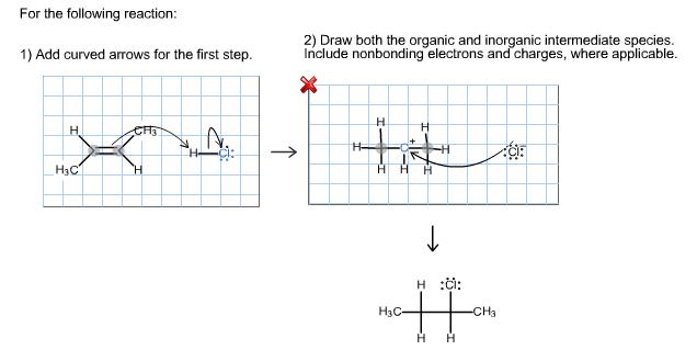 Solved Draw Both The Organic And Inorganic Intermediate S