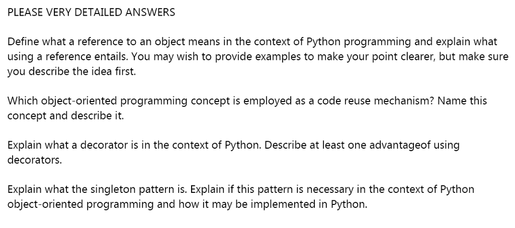 Solved Please Post Answer Who Is Expert In Python So I