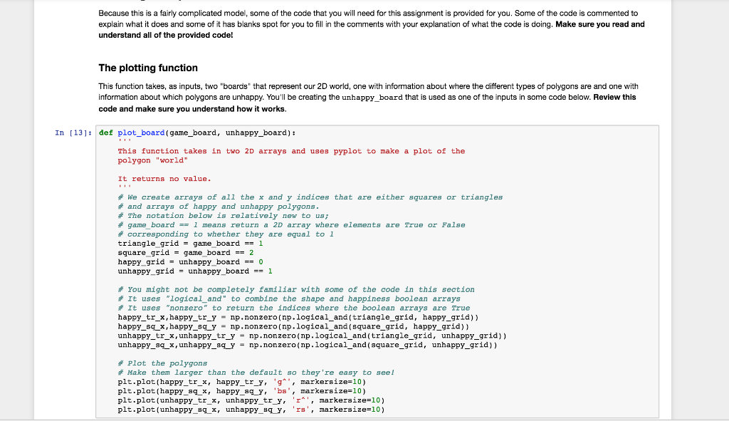 Agent Based Modelling In Python  All Instructions     | Chegg com