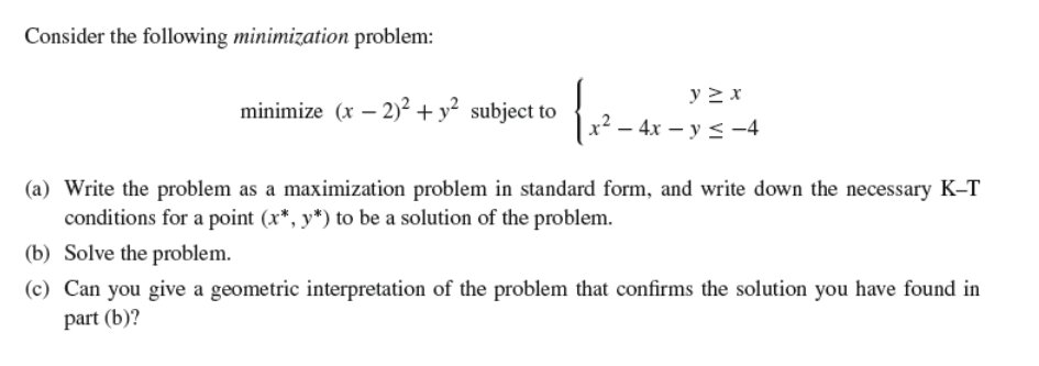 what is the difference between simplex solution procedure for a maximization and a minimization prob The method of finding the optimal solution to an lp problem by testing the profit or cost level at each corner point of the feasible region the theory of lp states that the optimal solution must lie at one of the corner points.