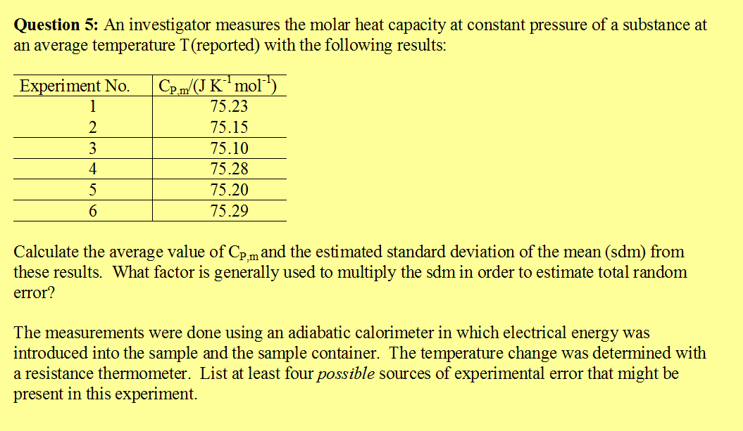 ice calorimeter determination with mg These heats of reaction will be used with hess's law to specific heat determination some liquid water probably went into your calorimeter along with the ice.