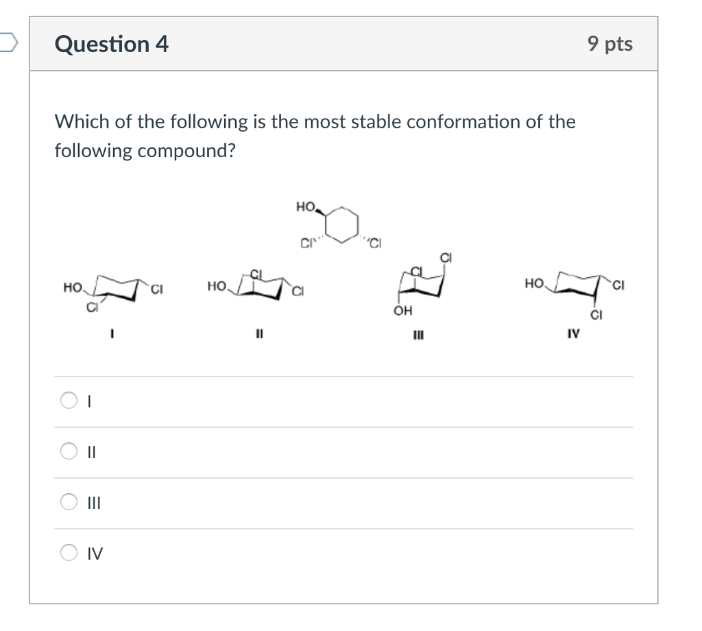 Klein organic chemistry test bank ebook coupon codes image chemistry archive september 30 2017 chegg question 4 9 pts which of the following is the fandeluxe Gallery