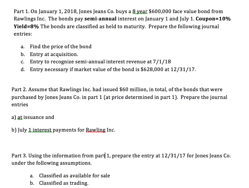 Accounting archive april 07 2018 chegg part 1 on january 1 2018 jones jeans co buys a 8 fandeluxe Images