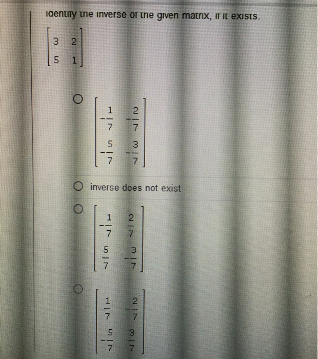 Algebra archive january 25 2017 chegg solve using cramers rule 6x5y 25 7x 9y 44 fandeluxe Images