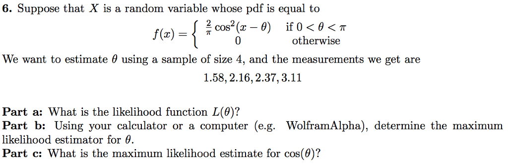 Solved: Suppose That X Is A Random Variable Whose Pdf Is E