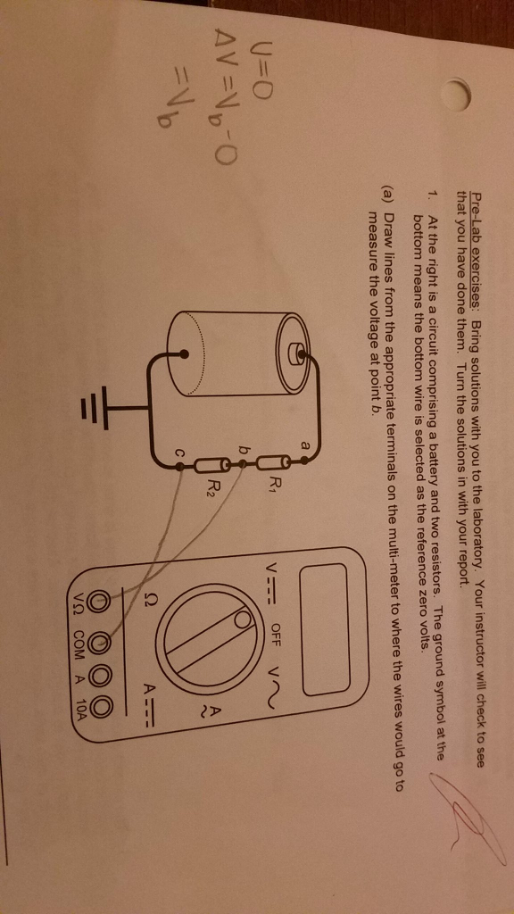 Solved Not Sure What Isnt Clear B The Knob On Top Of T