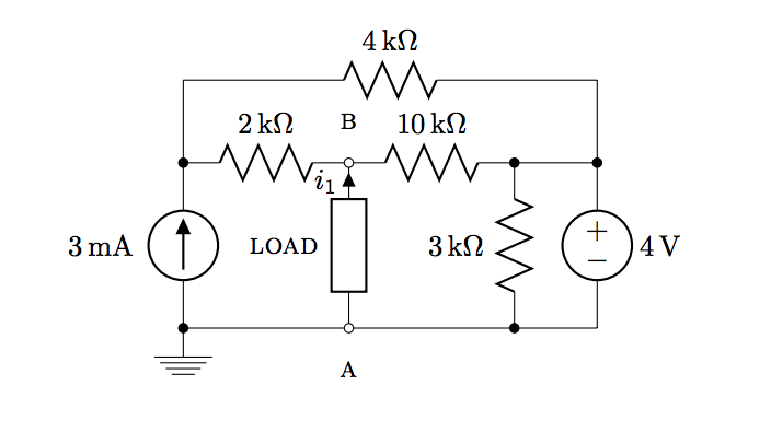 solved  find norton equivalent circuit for load between te