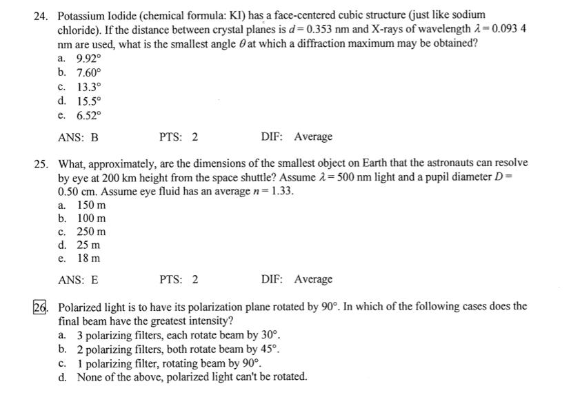 Solved Potassium Iodide Chemical Formula Ki Has A Face