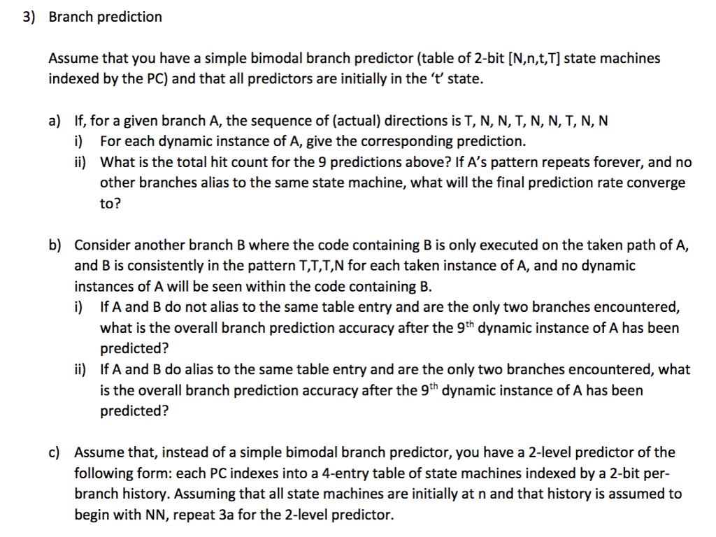 Predictors are