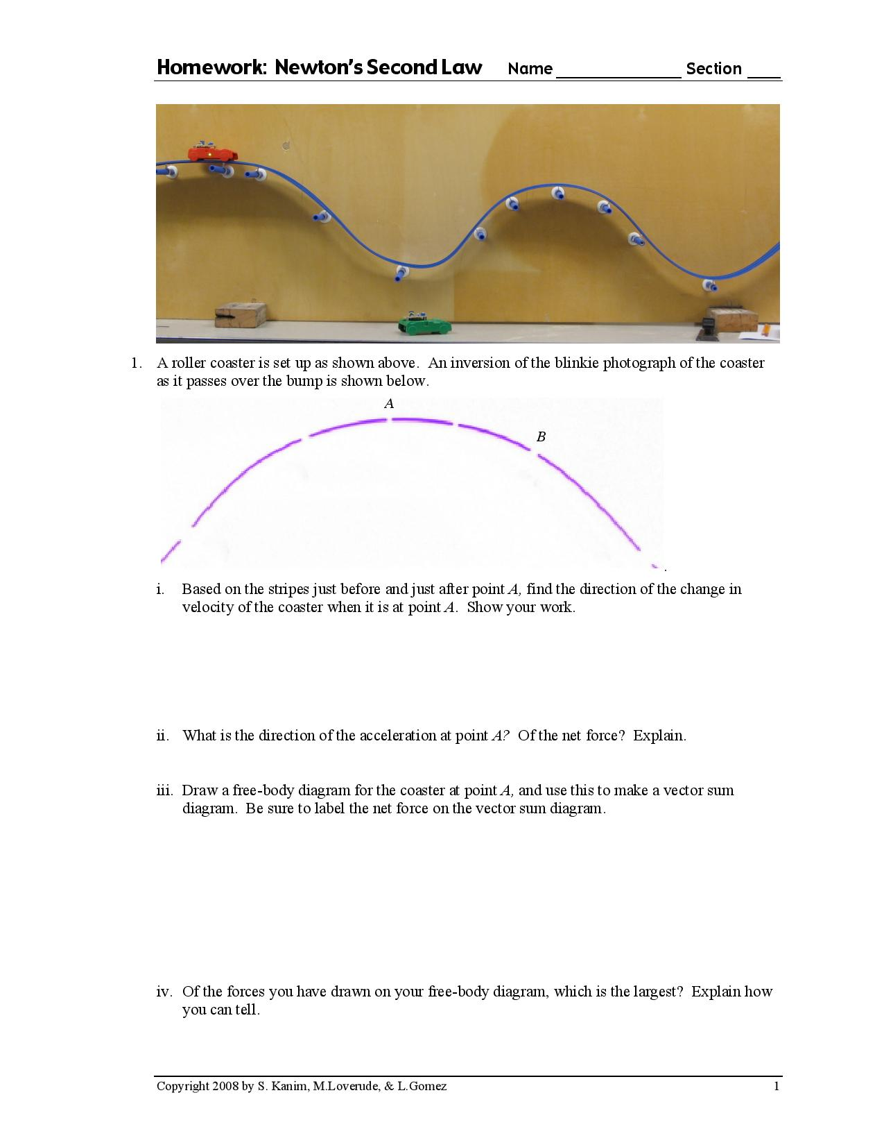 solved a roller coaster is set up as shown above an inv rh chegg com