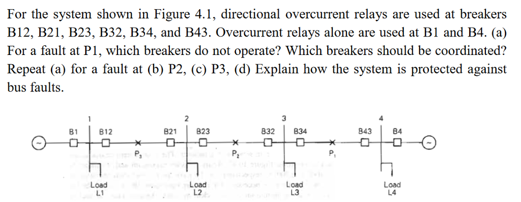 Solved: For The System Shown In Figure 4 1, Directional Ov